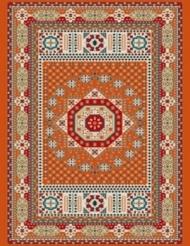 Machine made carpet, tribal pattern, code AB093