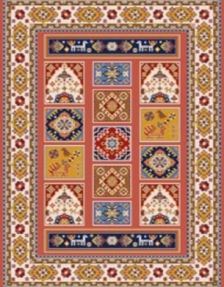 Bidjar carpet, code 960 10