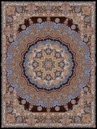 فرش 1000 شانه طرح پرند