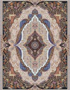 1000shoulder machine carpet, with a density of 3000, Pari Sima design in Toos Mashhadensity of 3000, Pari Sima design,
