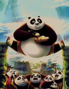 Kung fu panda Kid's carpet, Toos Mashhad