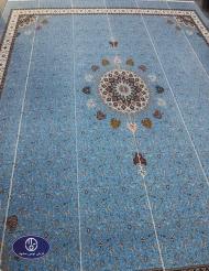 فرش یکپارچه مسجد بحرین تولیدی شرکت فرش توس
