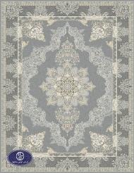 فرش ماشینی 1200 شانه نما کد HB1702 رنگ فیلی