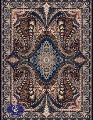 فرش 1000 شانه طرح پریاس
