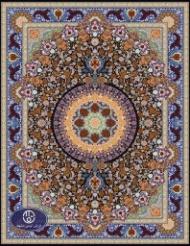فرش ماشینی 1000 شانه طرح پگاه توس مشهد