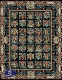 فرش 700 شانه با نخ ایرانی کد 6044