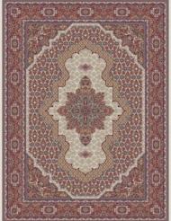 500reeds machine made carpet Heris Mahi pattern
