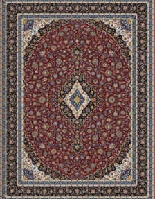 1000shoulder machine carpet, Kashan design, density of 3000,, Toos Mashhad