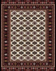 فرش مدرن 700 شانه طرح M11