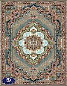 فرش 700 شانه طرح باغ معلق توس مشهد