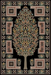 machine modern carpet design M02 Toos Mashhad