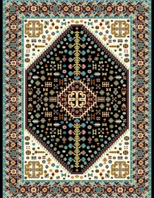 modern machine carpet design M05