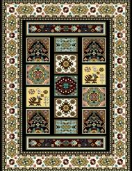 modern machine carpet design M06