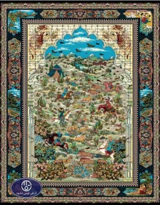cheap 700 reeds carpet code 6052, Toos Mashhad
