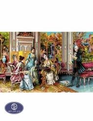1200reeds tableau rug, 70*100 centimeters, code 7044T