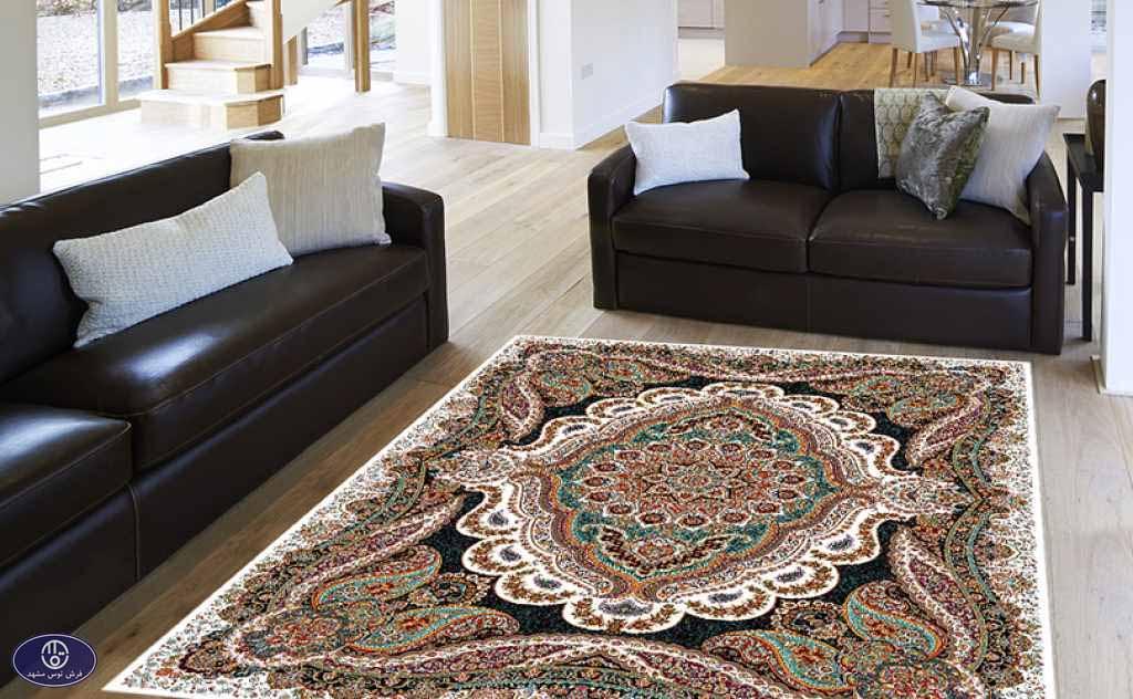 فرش 700 شانه طرح روژان