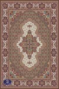 فرش 700 شانه طرح گل نرگس
