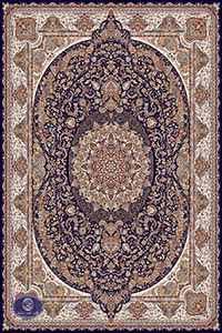 فرش 700 شانه طرح گل مریم
