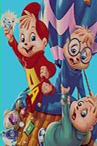 فرش عروسکی آلوین و سنجابها