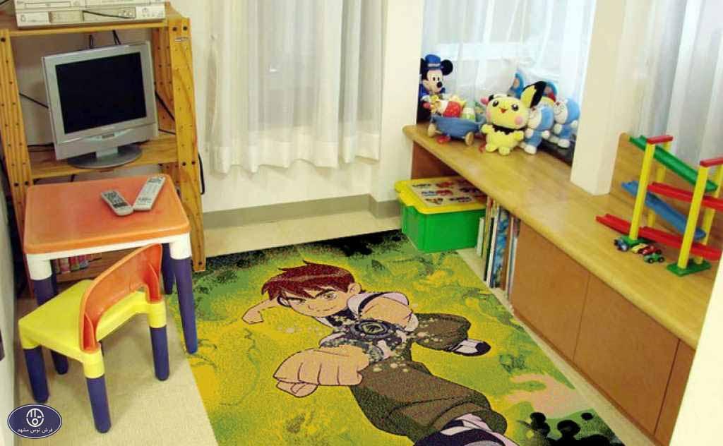 فرش عروسکی بن تن