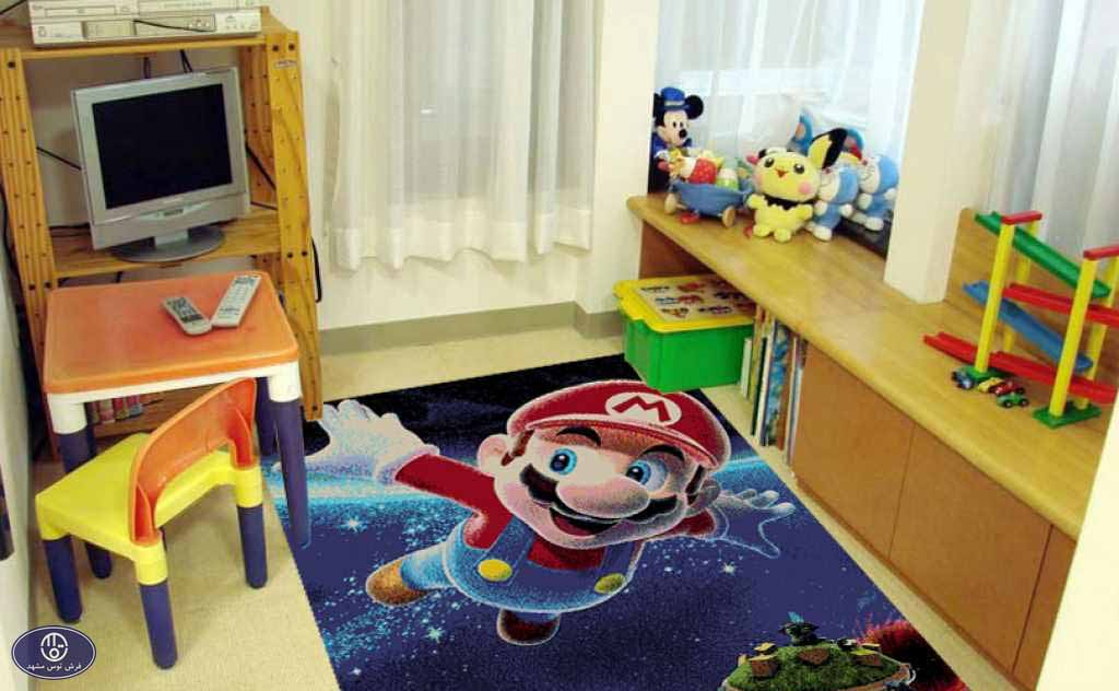فرش عروسکی قارچ خور