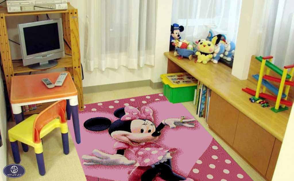 فرش عروسکی مینی ماوس