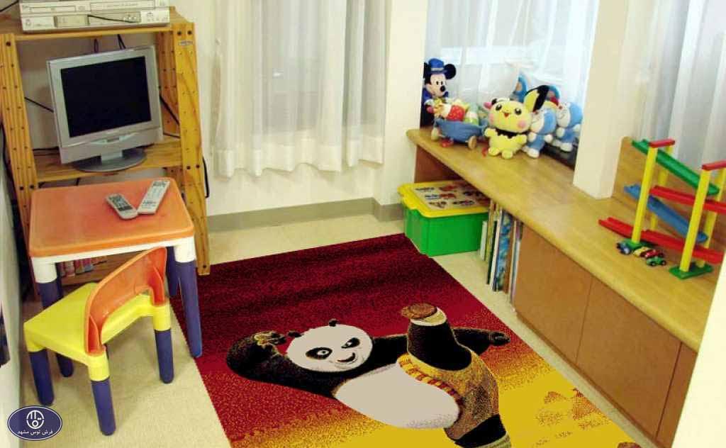 فرش عروسکی پاندا کنگفوکار2