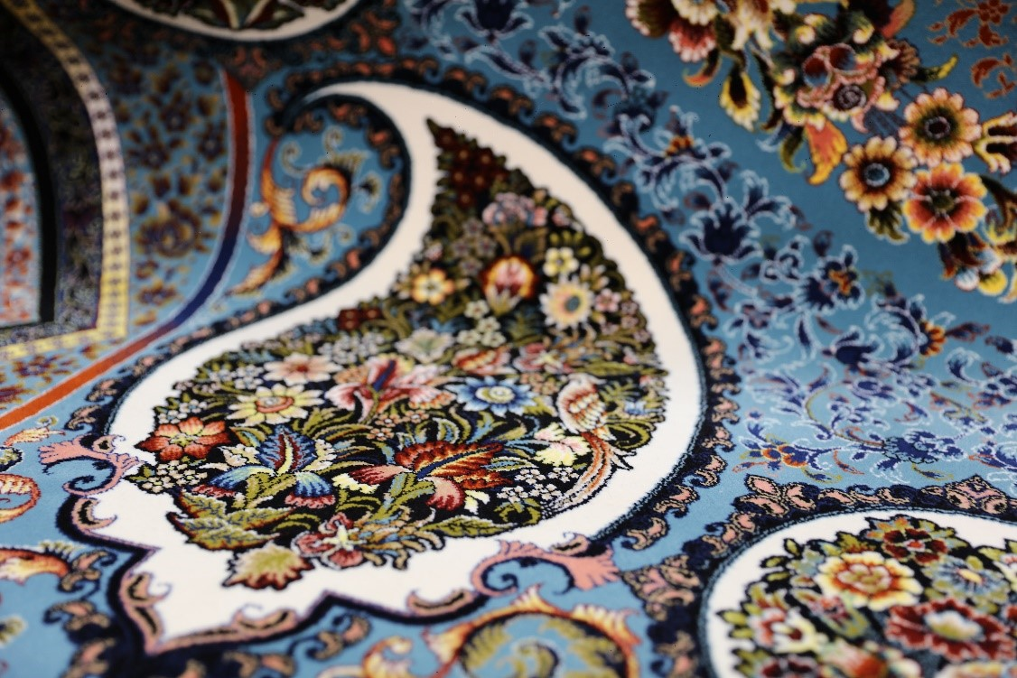 purchase of machine made carpet with awareness from Toos Mashhad