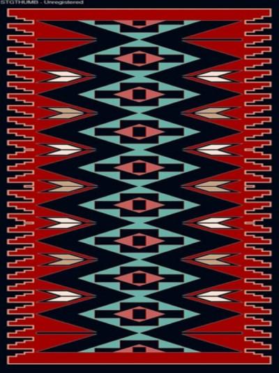 فرش عشایری کد AB075