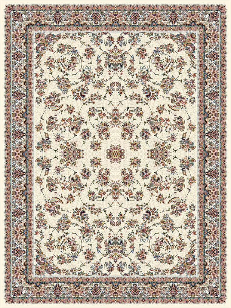 1000shoulder machine carpet, 6 Afshan design, Toos Mashhad