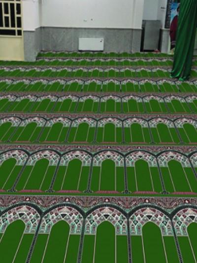 فرش سجاده ای طرح آفاق