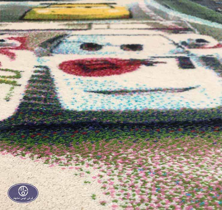 فرش عروسکی مکویین 1_3422 - 04