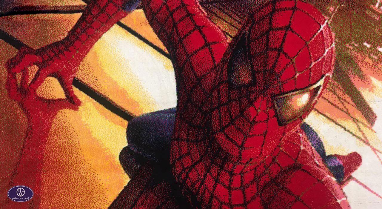 فرش کارتونی مرد عنکبوتی 1_3423