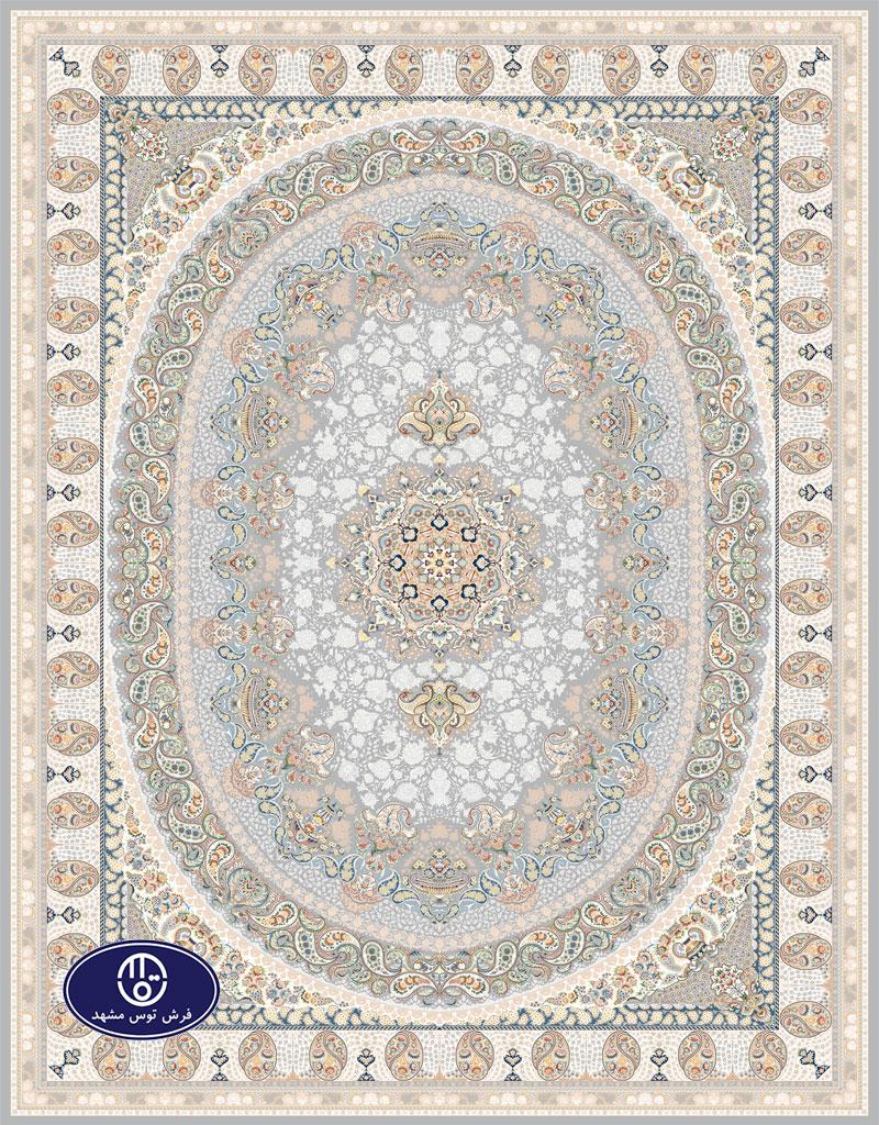 فرش گل برجسته 1000 شانه،توس مشهد،فیلی 8020