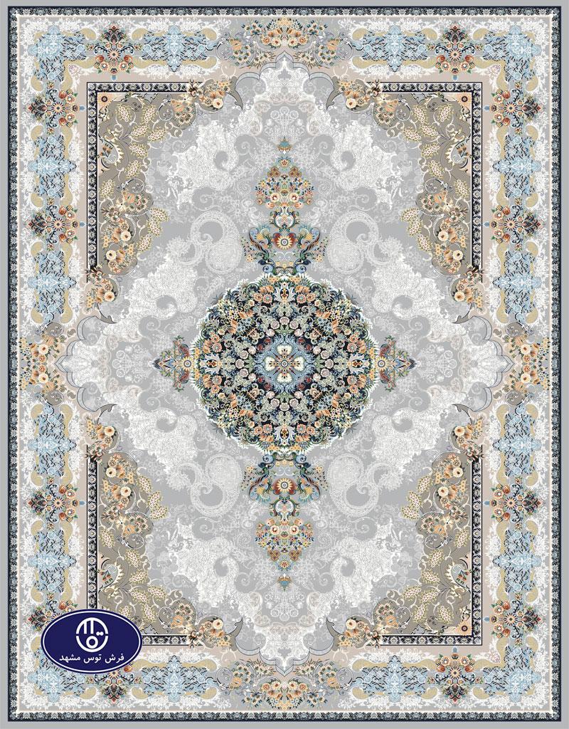 فرش گل برجسته،توس مشهد،فیلی 8026