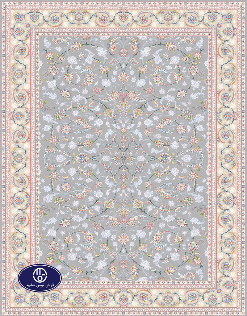 فرش گل برجسته،توس مشهد،فیلی 8031