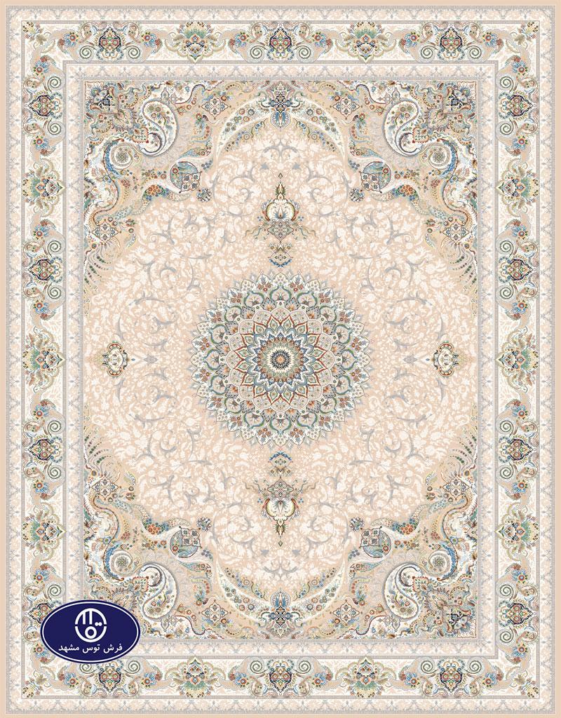فرش گل برجسته،توس مشهد،فیلی 8034