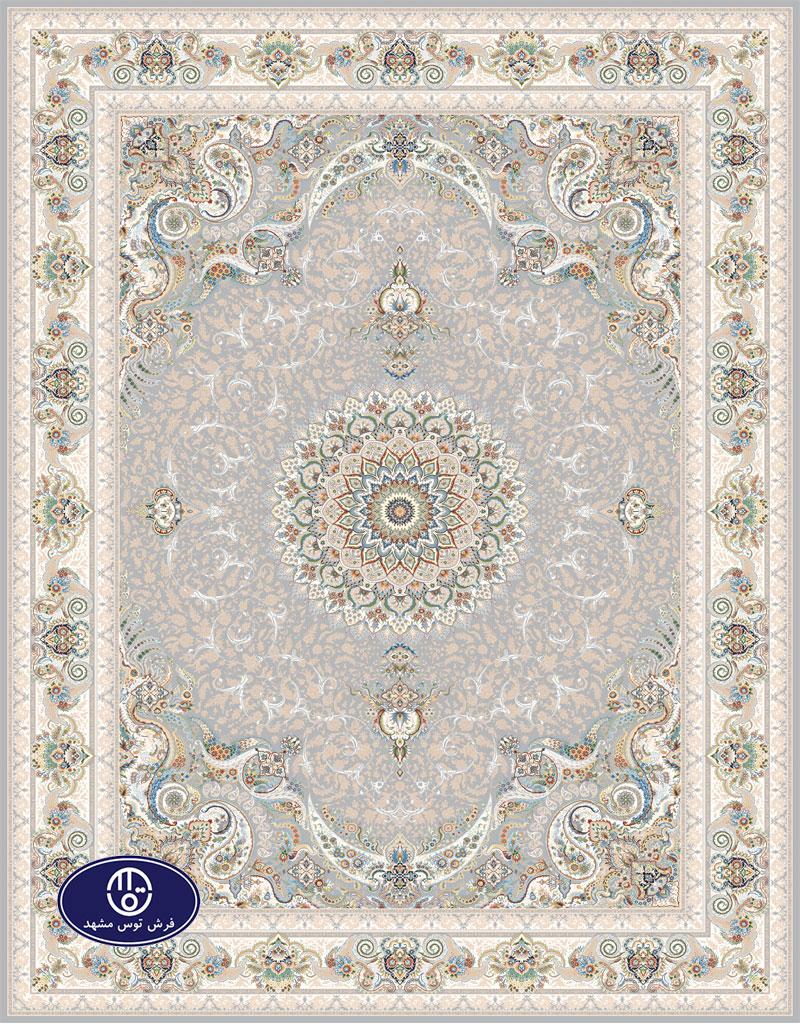 فرش گل برجسته،توس مشهد،فیلی 8035