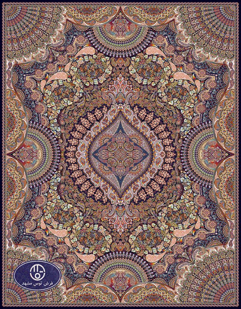 فرش 700 شانه،شاه صنم،توس مشهد،سرمه ای