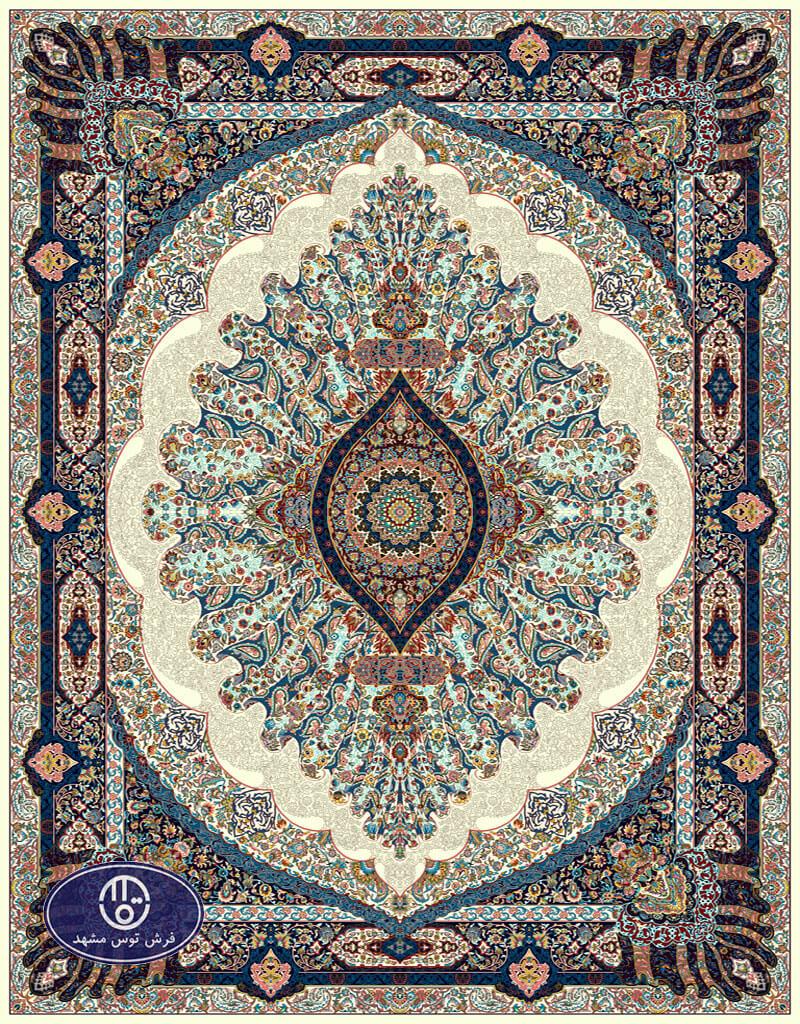 فرش 700 شانه،شبنم،توس مشهد،کرم