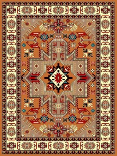 فرش عشایری کد AB078،توس مشهد،گلبهی