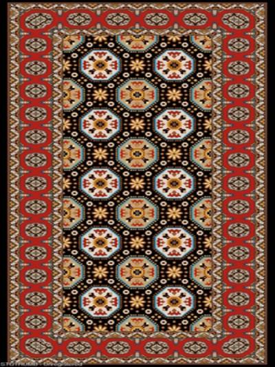 فرش عشایری کد AB087،توس مشهد،سرمه ای