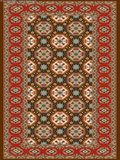 فرش عشایری کد AB087،توس مشهد،طلایی