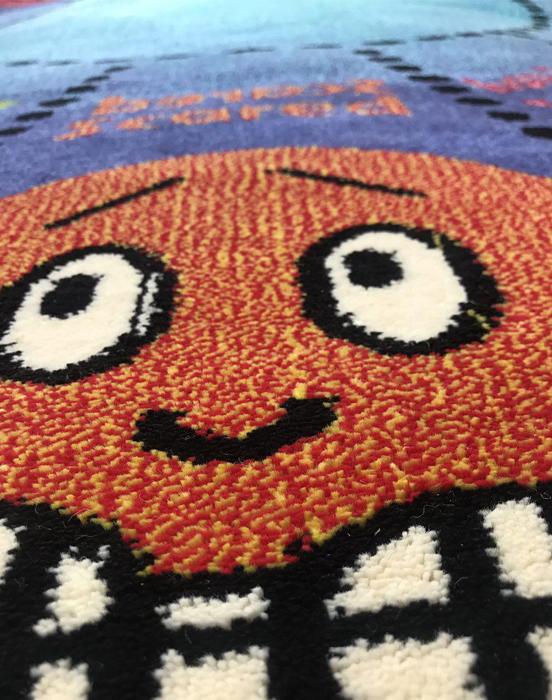 فرش عروسکی دایره اشکال -07