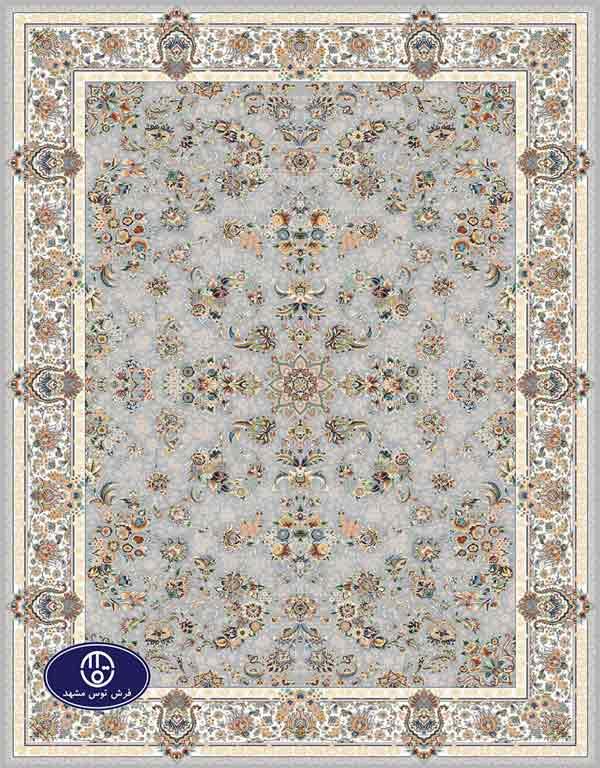 فرش گل برجسته،توس مشهد،فیلی 8016