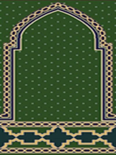 فرش سجاده ای طرح رویا سبز - 02