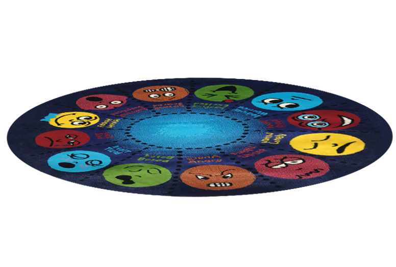 فرش عروسکی دایره اشکال -09