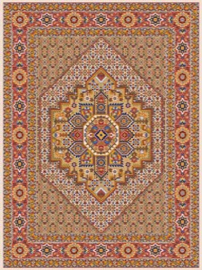 کرمی حاشیه لاکی - 1274