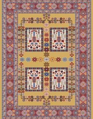 Bidjar carpet, code 960 02
