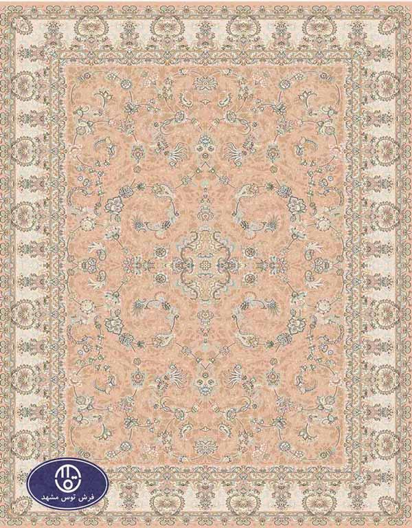 فرش لایت طرح ایرانی کد 8507,توس مشهد,صورتی